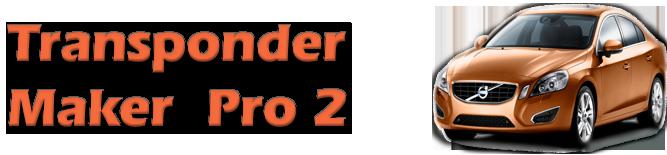 Transponder Maker Pro 2 support page